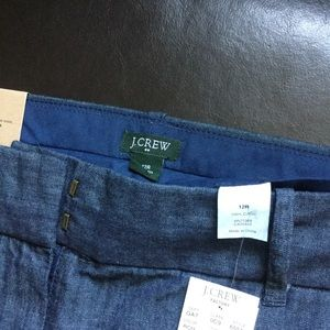 J Crew 12 Reg city Fit  Pants Jeans. New with tags